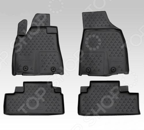 Комплект ковриков в салон автомобиля Novline-Autofamily Lexus RX 350 2012