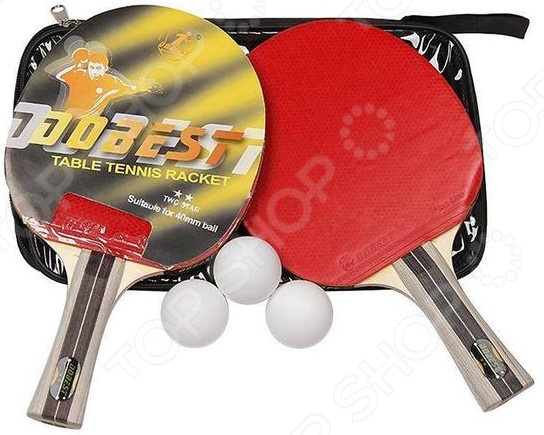Набор для настольного тенниса DoBest BB01 2* 1