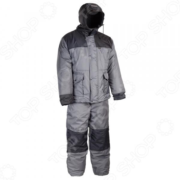 Костюм для рыбалки и отдыха зимний Huntsman «Полюс V». Цвет: серый, черный одежда для рыбалки wing atrium