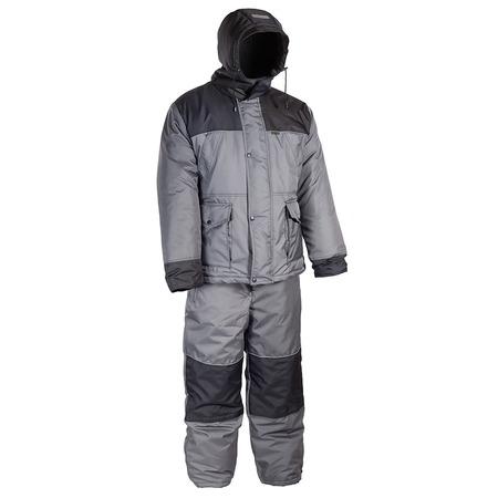 Купить Костюм для рыбалки и отдыха зимний Huntsman «Полюс V». Цвет: серый, черный