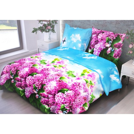 Купить Комплект постельного белья Диана «Букет сирени». 2-спальный