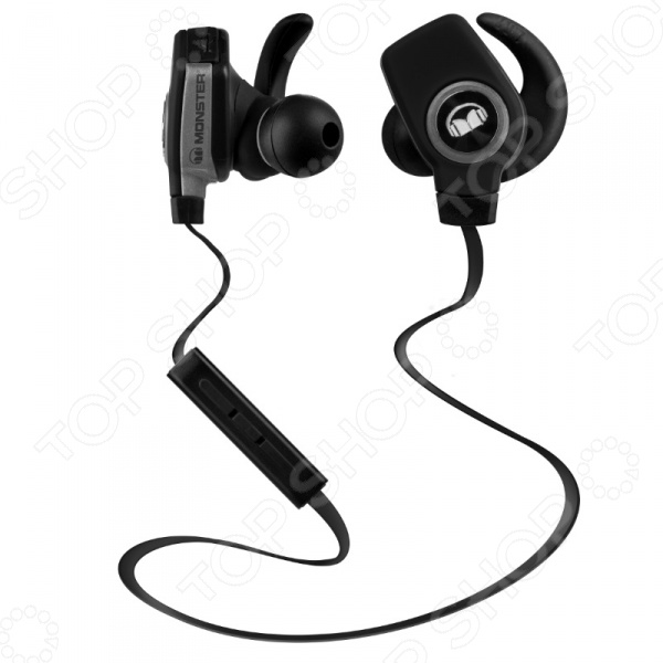 Гарнитура беспроводная MONSTER iSport SuperSlim Bluetooth Wireless беспроводные наушники monster isport bluetooth wireless superslim in ear black