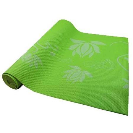 Коврик для йоги и фитнеса Z-Sports BB8300. Цвет: салатовый