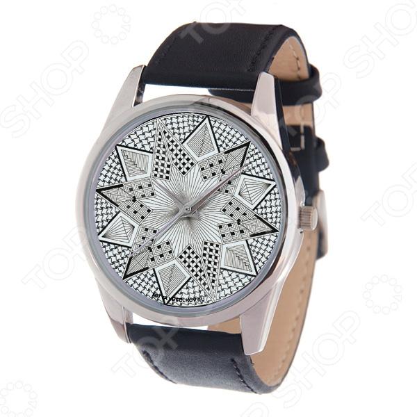 Часы наручные Mitya Veselkov «Черно-белая звезда»