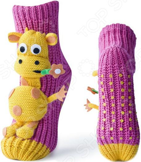 цена на Носки с игрушкой HOBBY LINE «Жираф»
