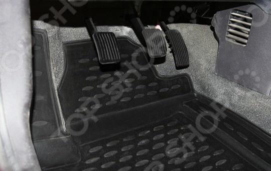 Комплект ковриков в салон автомобиля Novline-Autofamily Hyundai i10 2008 комплект ковриков в салон автомобиля novline autofamily ford kuga 2008