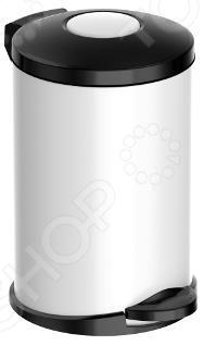 Ведро для мусора Meliconi «Стиль: Матовый белый» ведро для мусора meliconi стиль энерджи