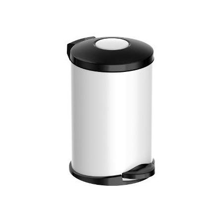 Ведро для мусора Meliconi «Стиль: Матовый белый»