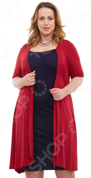 Платье Laura Amatti «Легкое мгновение». Цвет: бордовый