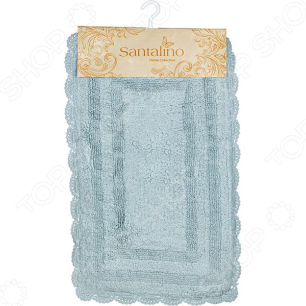 Коврик для ванной комнаты Santalino «Юнона» коврик для ванной арти м 50х80 см розанна