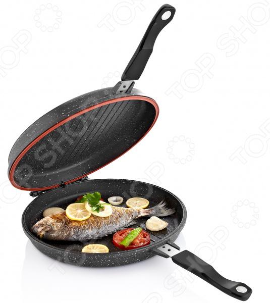 Сковорода двусторонняя «МегаГриль»
