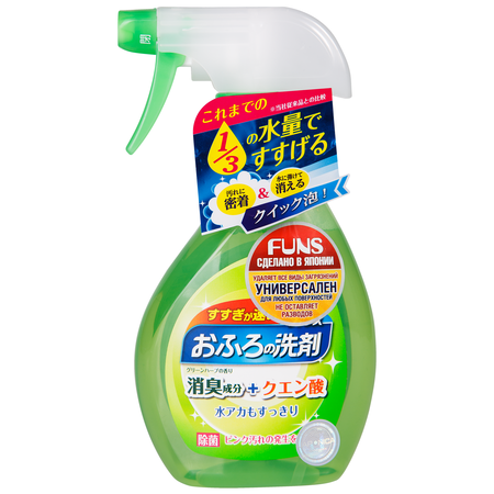 Купить Спрей чистящий для ванной комнаты FUNS «Зеленый бамбук»