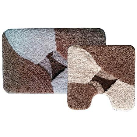 Купить Комплект ковриков для ванной и туалета «Дебора»