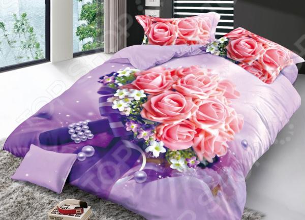 Комплект постельного белья Бояртекс «Свадебный букет». 1,5-спальный