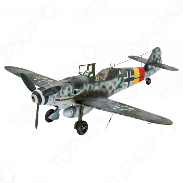Сборная модель истребителя Revell «Мессершмитт» Bf.109 G-10 сборная модель revell самолет junkers ju 87 g 2 tank buster 04692r