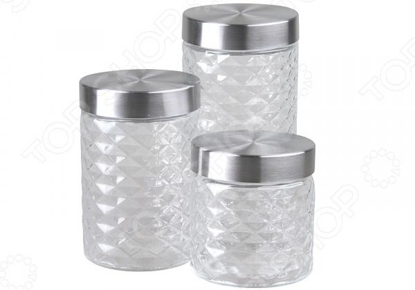 Набор банок для хранения Rosenberg RGL-220013-3