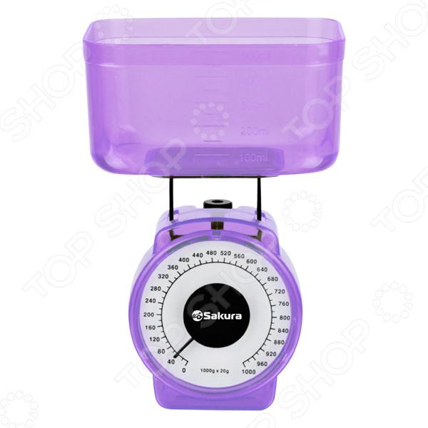 Весы кухонные Sakura SA-6018 весы напольные sakura sa 5000 6