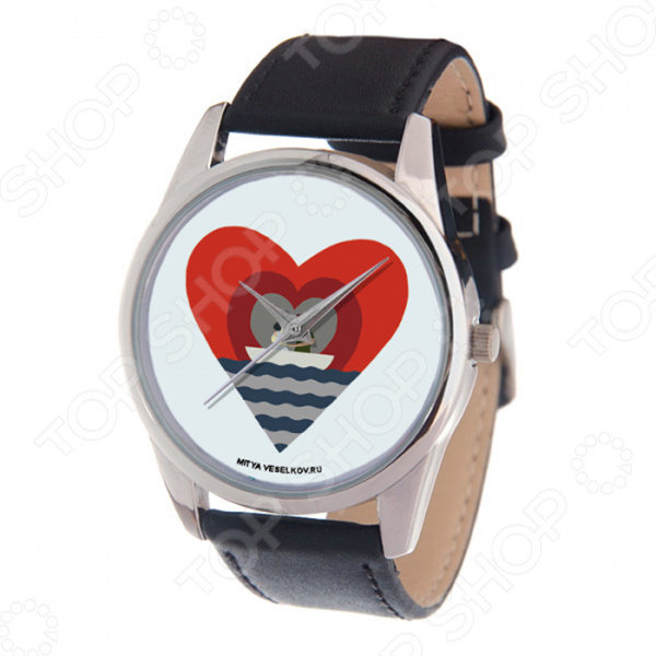 Часы наручные Mitya Veselkov «Лодка любви»