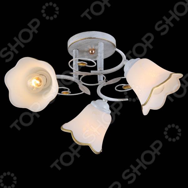 Люстра потолочная Natali Kovaltseva 11452/3C WHITE GOLD люстра natali kovaltseva grand 11369 3c white gold