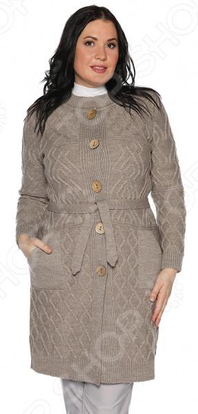 Жакет Milana Style «Душистый мед». Цвет: кофейный платье milana style milana style mi038ewxjv28