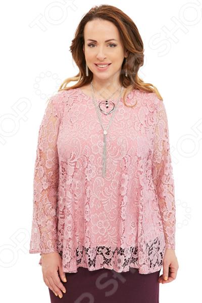 Туника Pretty Woman «Любимая моя». Цвет: розовый цена 2017