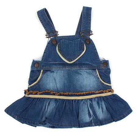 Купить Сарафан детский Akira ЯВ121313. Цвет: синий