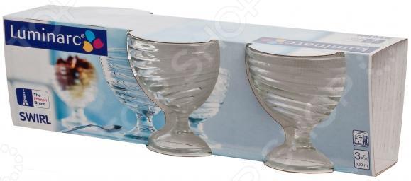 Набор креманок Luminarc Swirl swirl s71