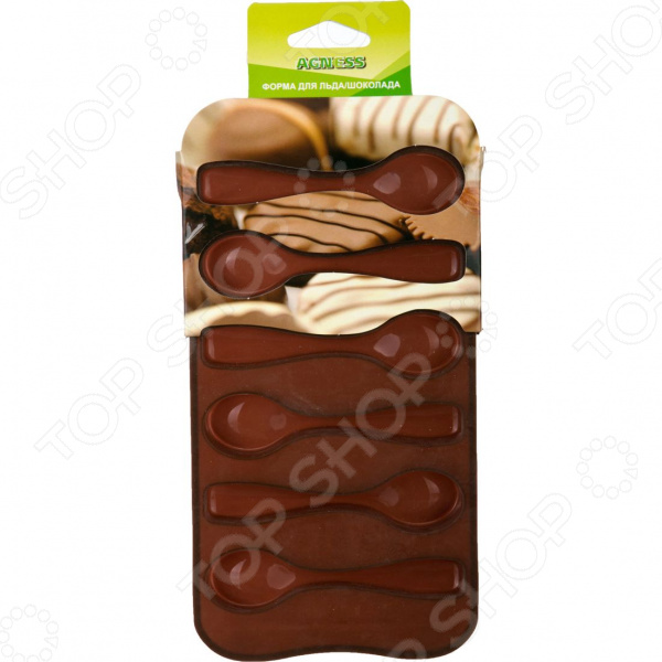 Форма для льда и шоколада Agness 710-234