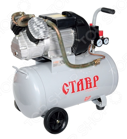 Компрессор масляный коаксиальный СТАВР КМК-50/2200 компрессор масляный total tc1300506