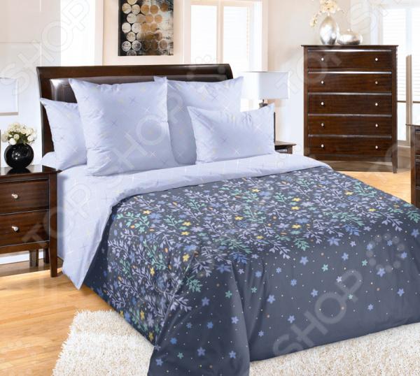 Комплект постельного белья ТексДизайн «Искра» комплект постельного белья altinbasak 1 5 сп ранфорс athletik голубой 298 42 char001