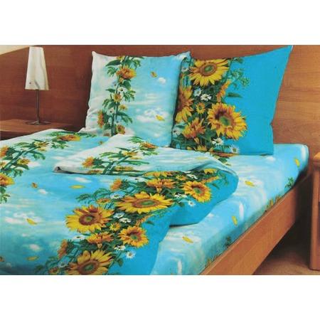 Купить Комплект постельного белья Fiorelly «Цветок солнца». 1,5-спальный