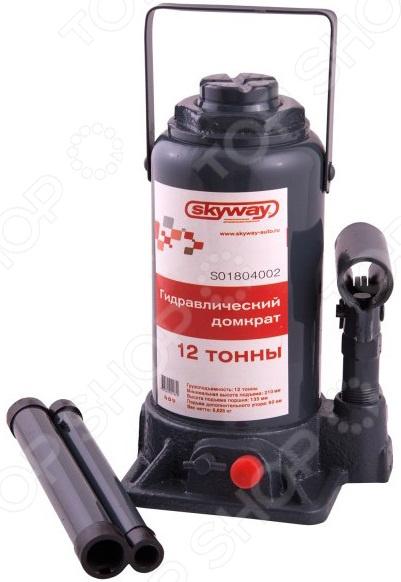 Домкрат гидравлический бутылочный SKYWAY S01804002