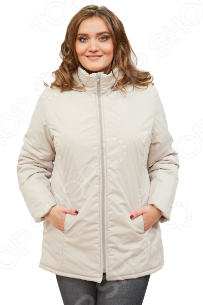 Куртка СВМ-ПРИНТ «Ласковое тепло». Цвет: бежевый