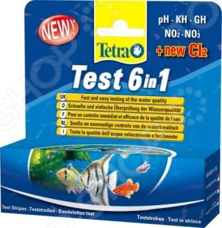 Тест-полоски для пресной воды Tetra TetraTest