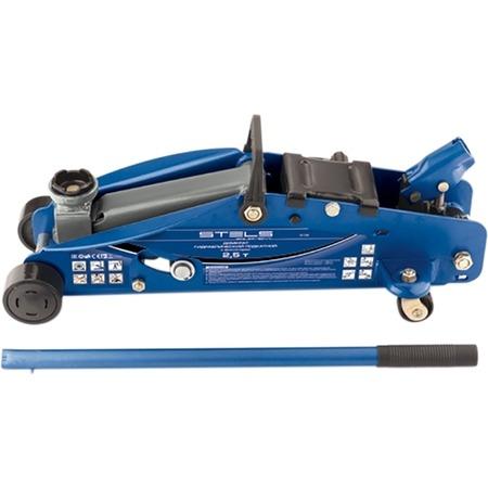 Купить Домкрат гидравлический подкатной Stels Safety Pin 51132