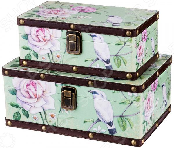 Комплект шкатулок Lefard «Райские птицы» 706-306