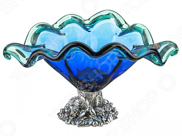 Чаша декоративная WHITE CRISTAL 647-586 millennio чаша декоративная kennith 12х34х35 см