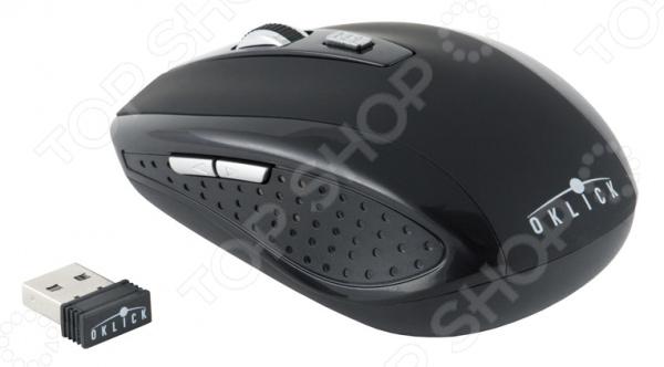 лучшая цена Мышь Oklick 455MW USB