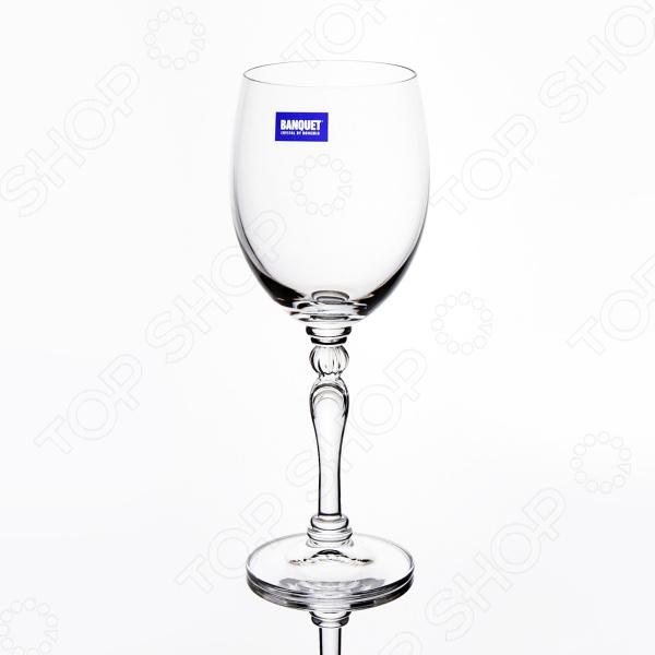 Набор бокалов Banquet Crystal Lucille набор бокалов crystalex ангела оптика отводка зол 6шт 400мл бренди стекло