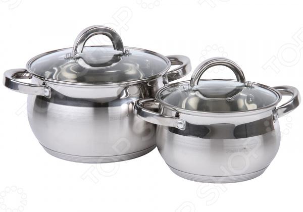 Набор кастрюль Pomi d'Oro Levita: 4 предмета набор посуды для готовки pomi d oro terracotta conveniente set