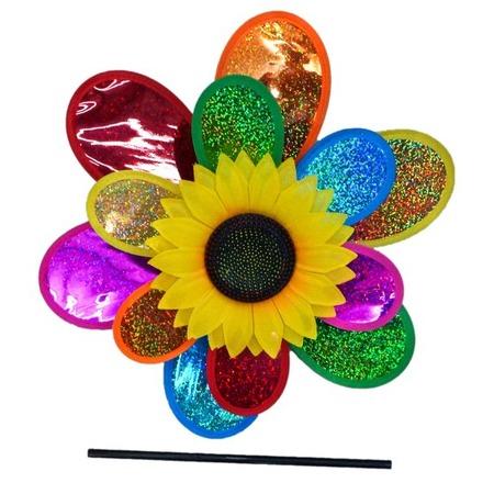 Купить Игрушка-вертушка Shantou Gepai голографическая «Подсолнух»