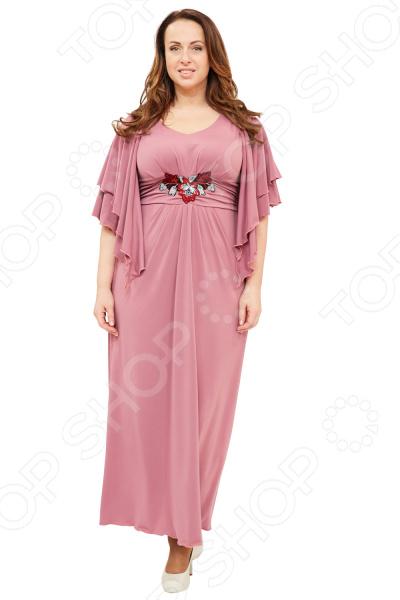 Платье Матекс «Прекрасная леди». Цвет: фламинго