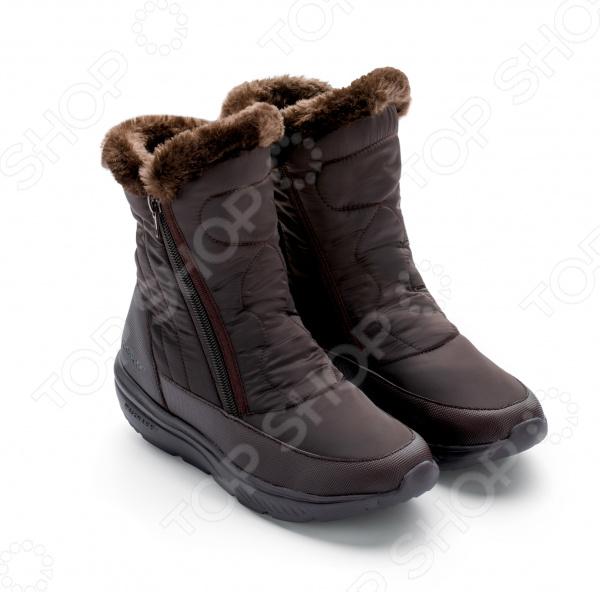 Зимние ботинки женские Walkmaxx COMFORT 2.0. Цвет: коричневый