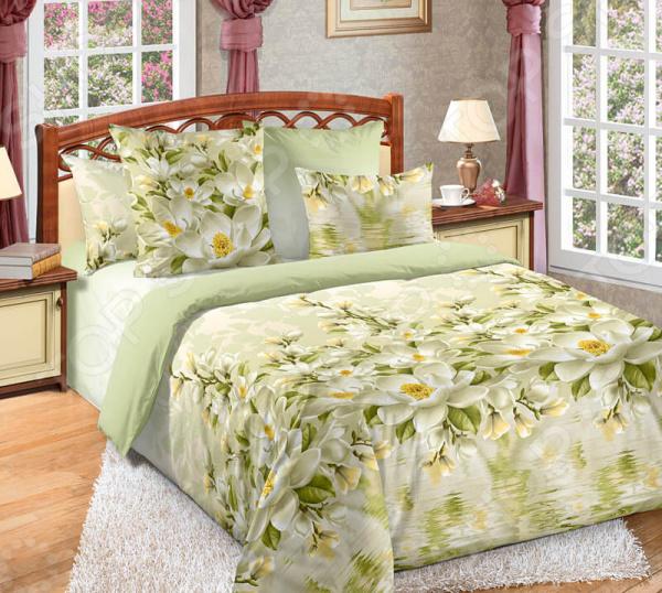 Комплект постельного белья Белиссимо «Магнолия». 2-спальный