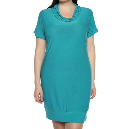 Купить Платье-туника «Алмазная россыпь». Цвет: бирюзовый