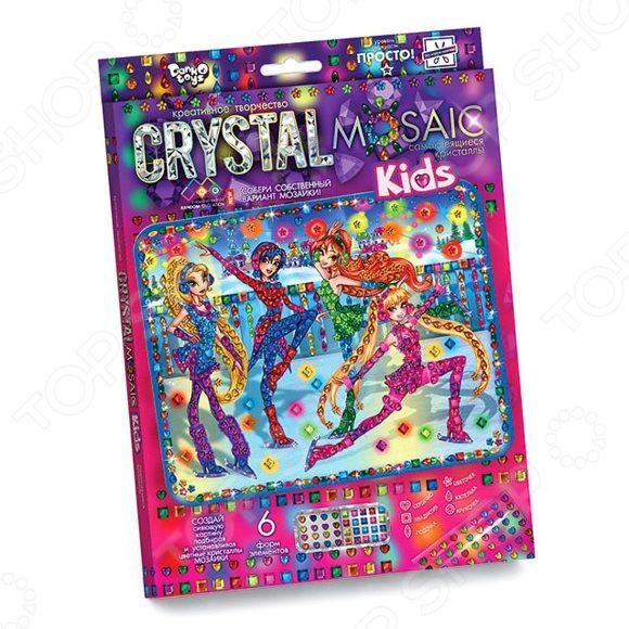 Набор для творчества Danko Toys Crystal Mosaic Kids «Девочки феи»
