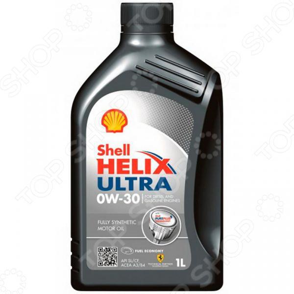 Масло моторное синтетическое Shell Helix SHL-0W30 ULTRA ECT масло моторное shell ultra ect c2 c3 0w30 4л