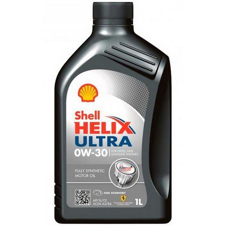 Купить Масло моторное синтетическое Shell Helix SHL-0W30 ULTRA ECT
