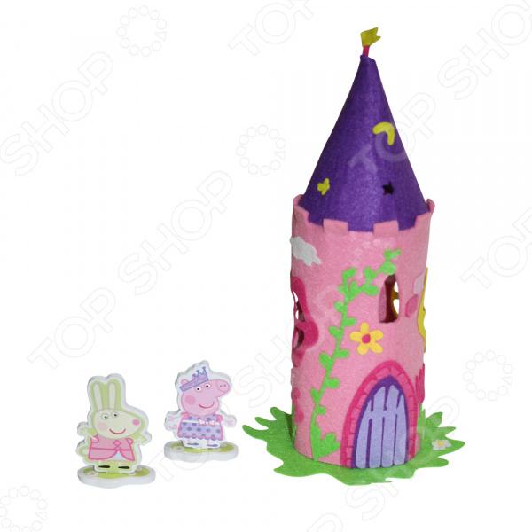 Набор для шитья из фетра Peppa Pig «Волшебный замок Пеппы»