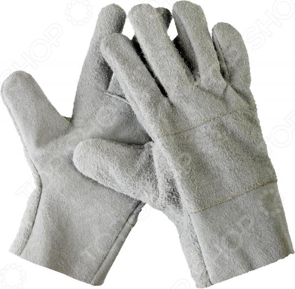Перчатки рабочие кожаные Сибин 1134-XL перчатки рабочие кожаные xl